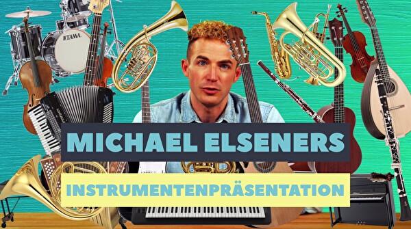 Michael Elseners Instrumentenpräsentation