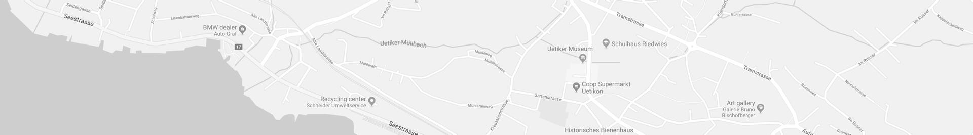 Ortsplan Uetikon