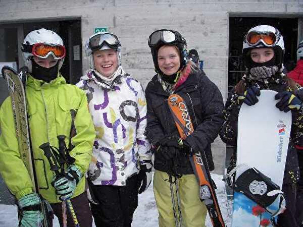 Skilager Oberstufe 2012