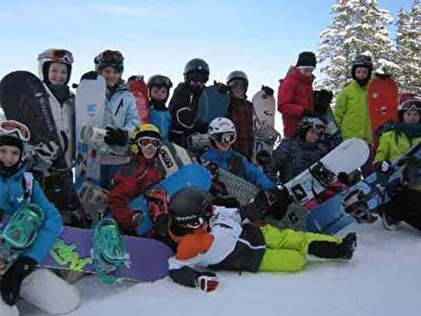 Schneesportlager im Pizol 2012