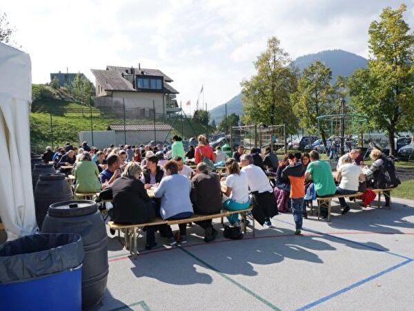 Eröffnungsfeier Morgarten