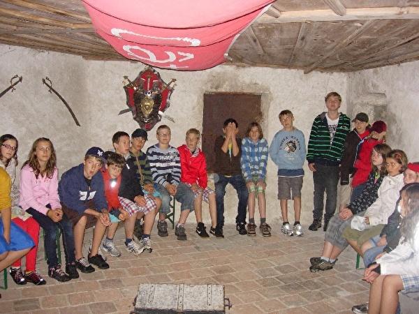 Besuch im Schloss Gruyère