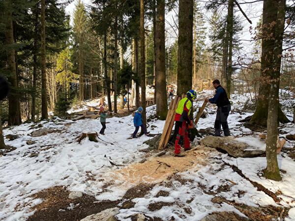 Erneuerung Waldsofa