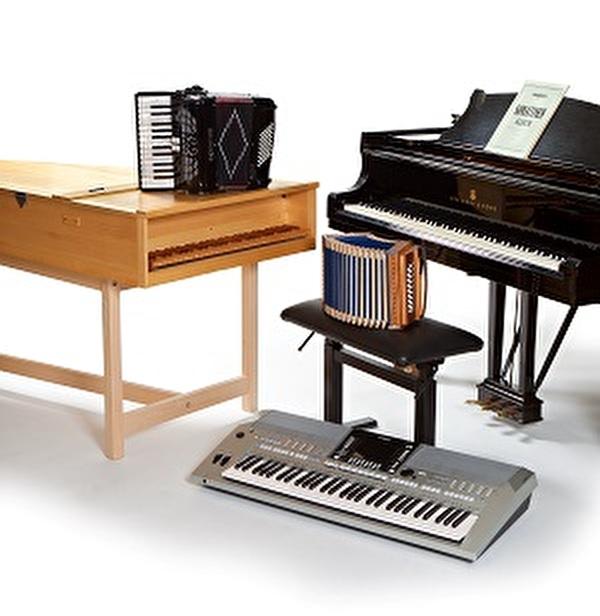 Tasten- und Knopfinstrumente