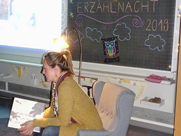 Erzählnacht Schulkreis Robersten, November 2019