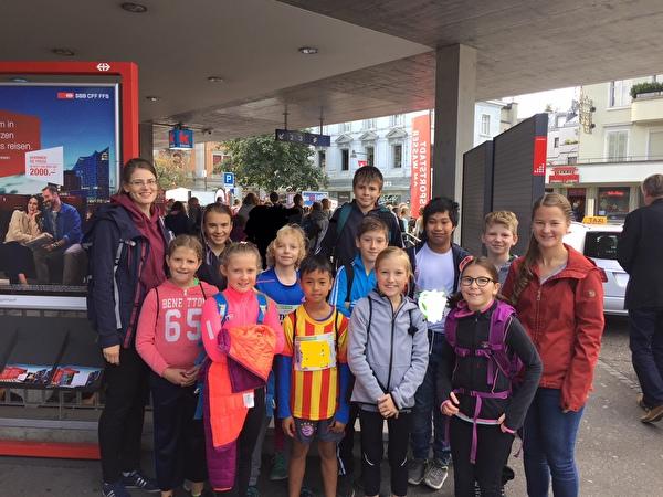 Greifenseelauf Mittelstufe 2017