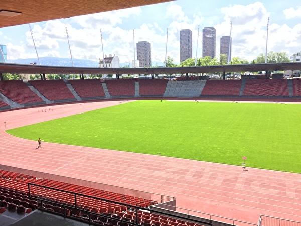 Besuch im Stadion Letzigrund