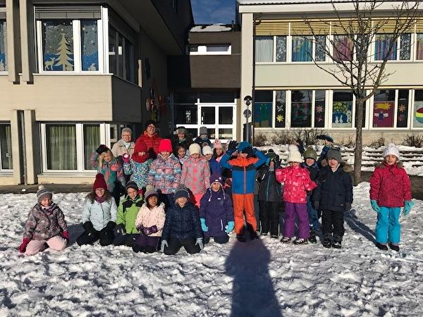 Schneespiele 1./2. Klasse