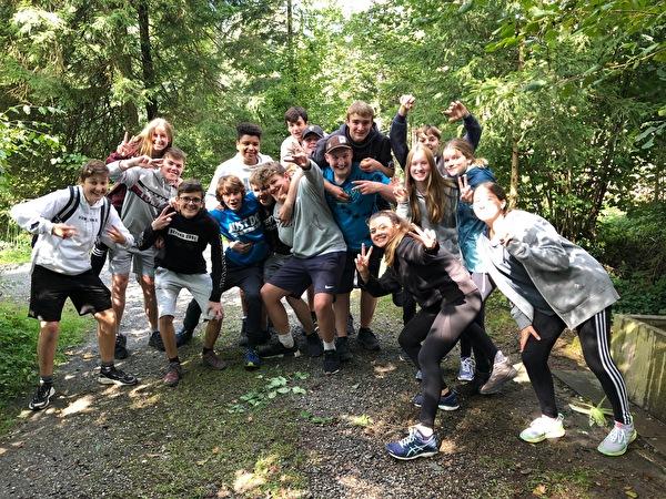 Gruppenbild Herbstwanderung
