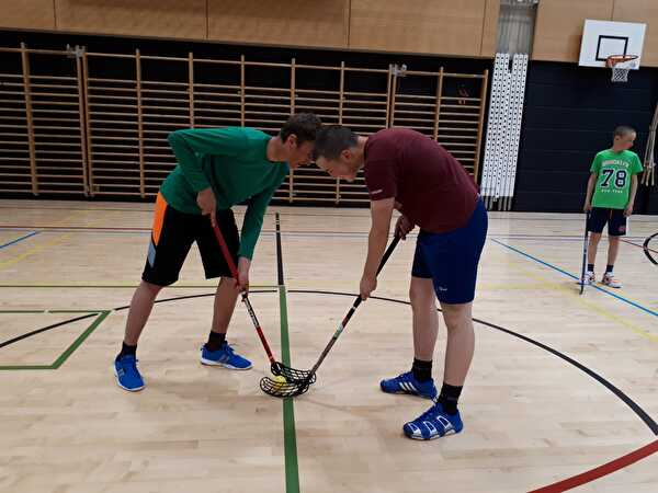 Unihockey-Match