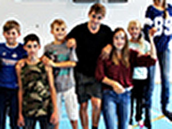 Bewegte Schule; Slackline