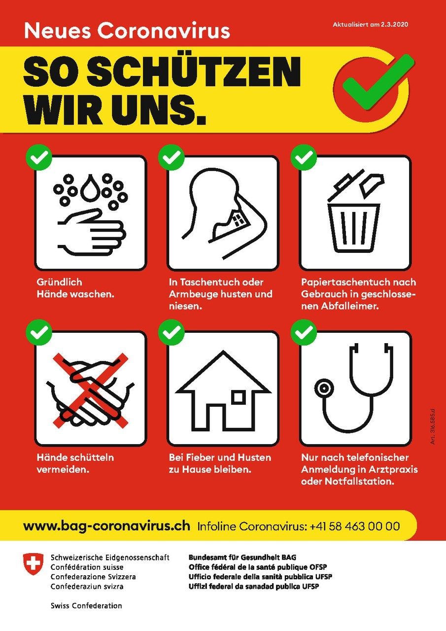 Bild Schutz Coronavirus