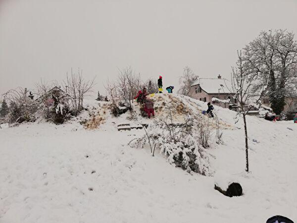 Schneemorgen