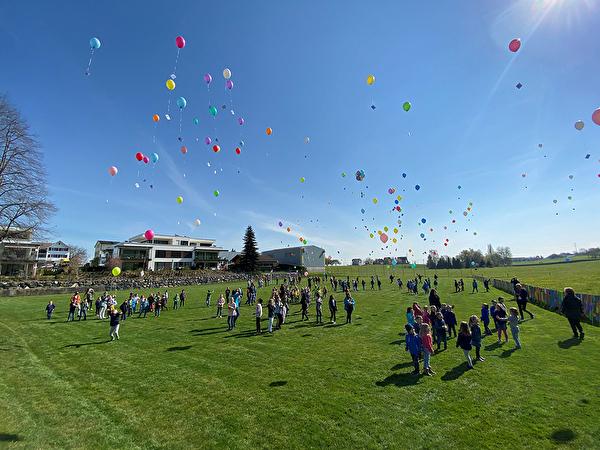 Ballone am Bichwiler Himmel
