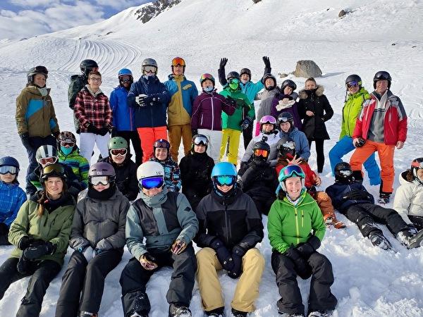 Schneesportlager Davos 2020