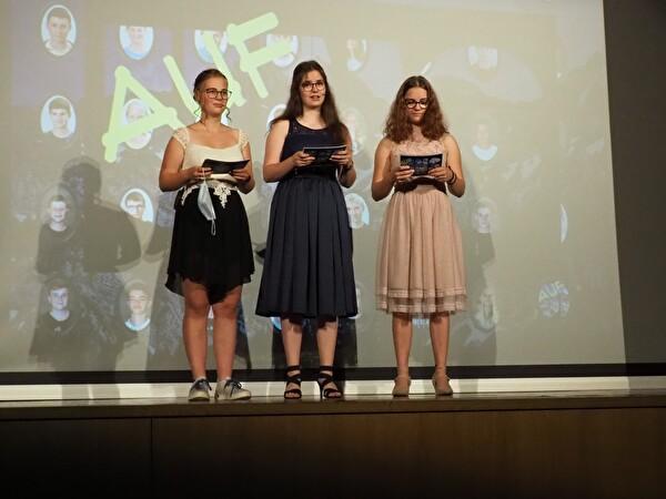 Unsere 3 Moderationsgirls