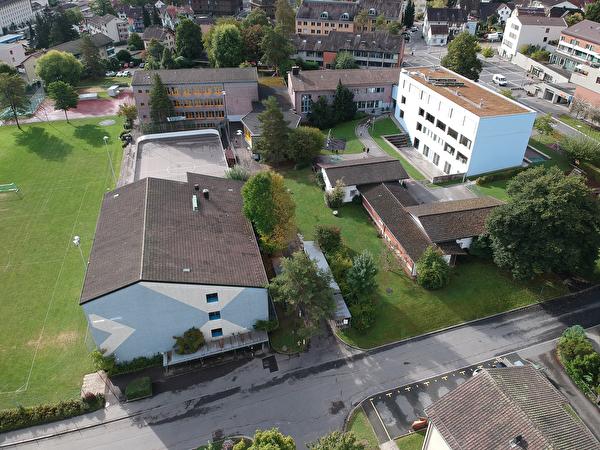 Ost-Ansicht Schulhaus Widmer