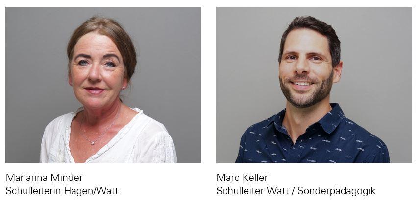 Marianna Minder und Marc Keller