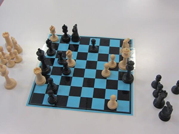 Schachpartie