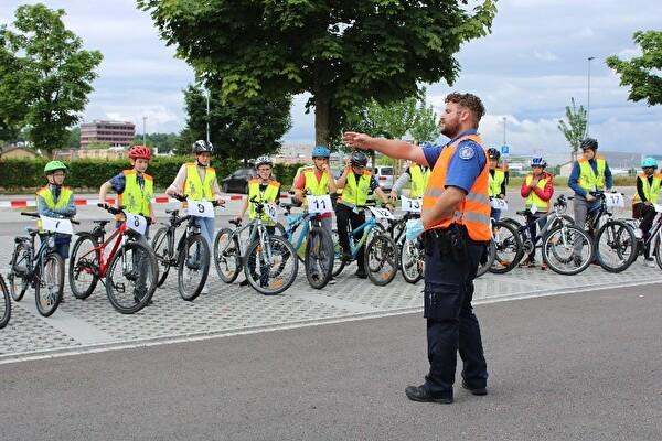 Veloprüfung mit der Stadtpolizei