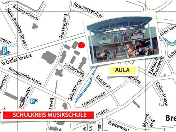Aula / Musikschule im Oberstufenzentrum