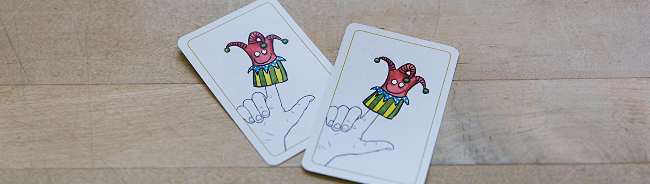zwei Joker-Karten