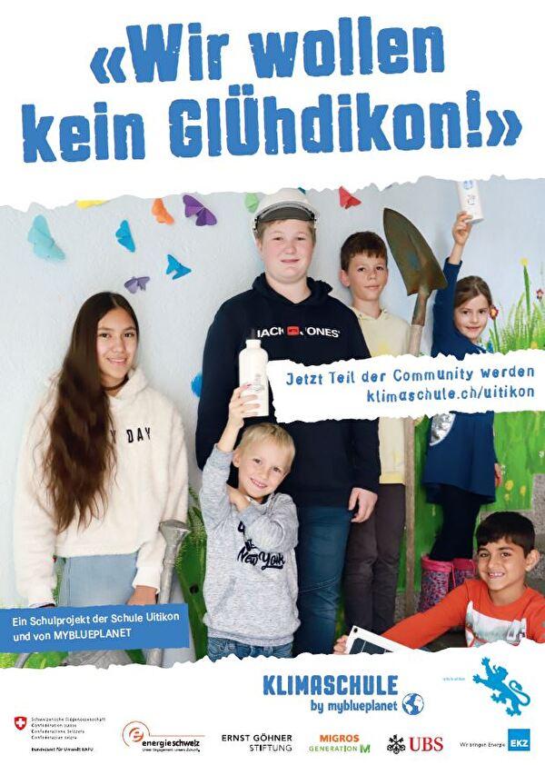 Wir wollen kein GlÜhdikon - Ein Schulprojekt der Schule Uitikon
