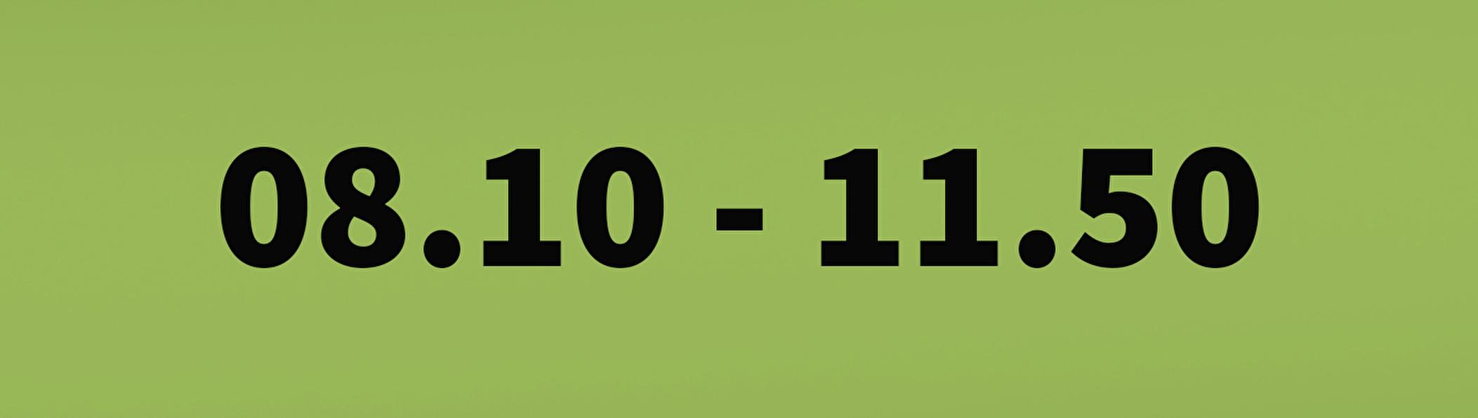 8.10 - 11.50
