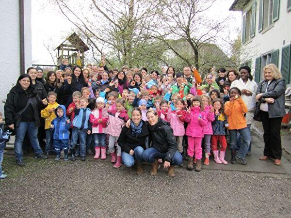 Ostern Kindergarten 2012