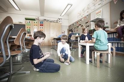 Spielsituation im Klassenzimmer