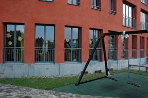 Der KIndergaren Im Lot befindet sich in der gleichnamigen Siedlung beim Stadtpark.