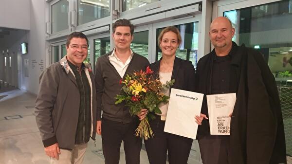 Ernesto Archer, Beat Steuri, Alexandra Pfister und Roger Boltshauser