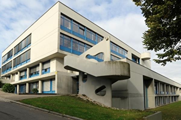Schulhaus Rainweg, Ansicht via Rainweg