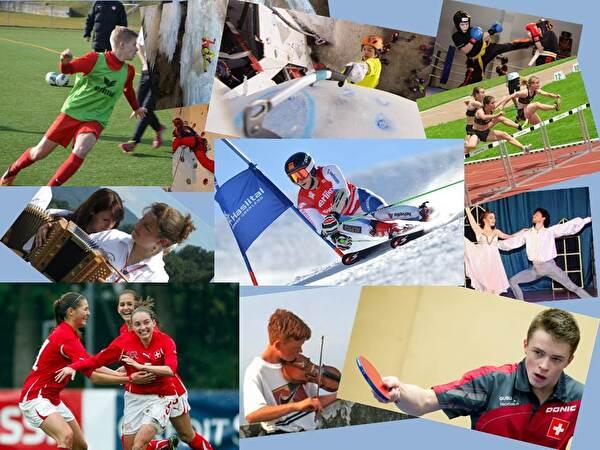 Junge Sportler