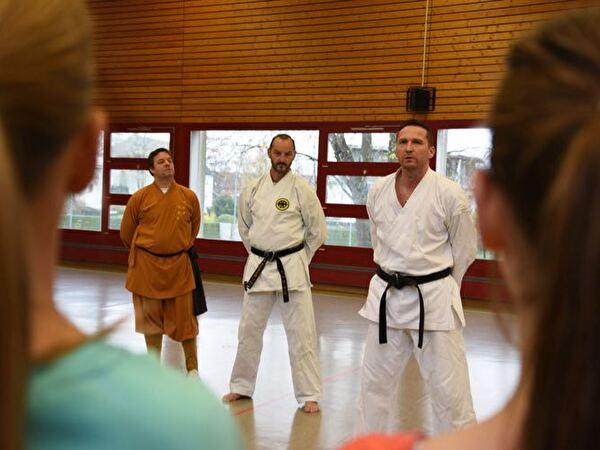Schnuppertraining Karate und Kung-Fu