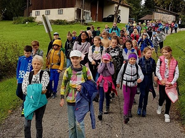 Schulhauswanderung