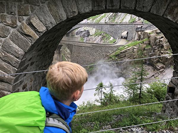 Abschlussreise über den Gotthard
