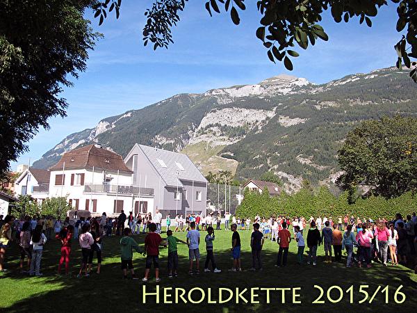 Schulhaus Herold - Heroldkette 2015/16