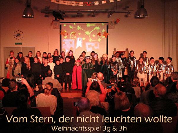 Schulhaus Herold - Weihnachtsspiel der Klassen P3g und P3h