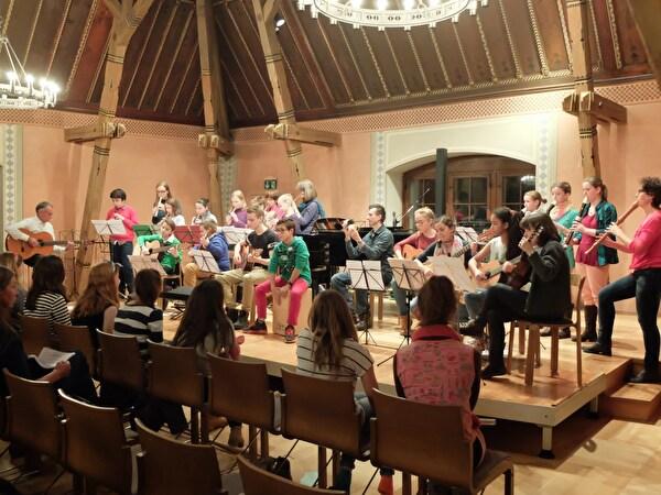 Ensemble Konzert im Schloss vom 25.11.2015