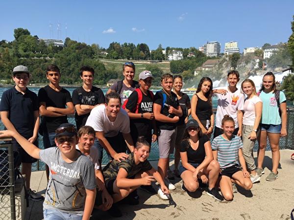 3. OS beim Rheinfall