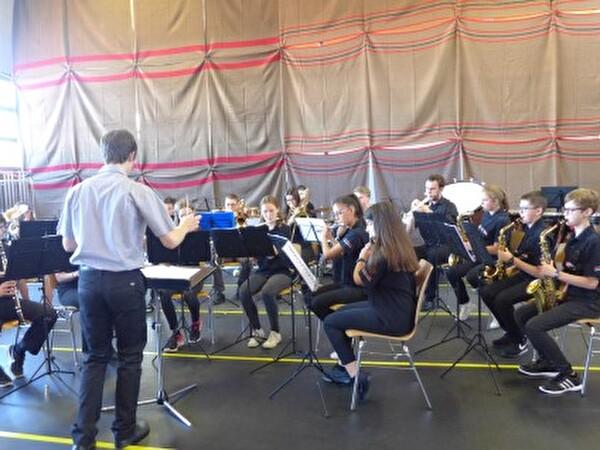 Juborajo am Jugendmusik-Wettbewerb in Eggersriet