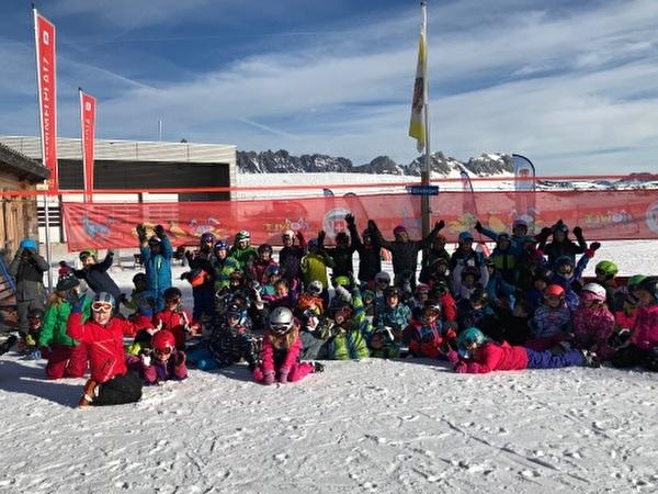 Skitag in den Flumserbergen