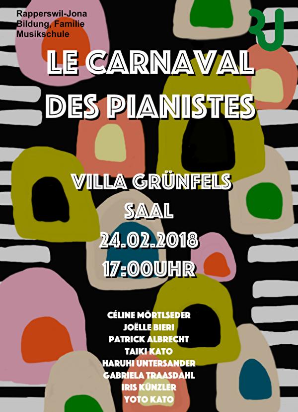 Flyer Le Carnaval des Pianistes
