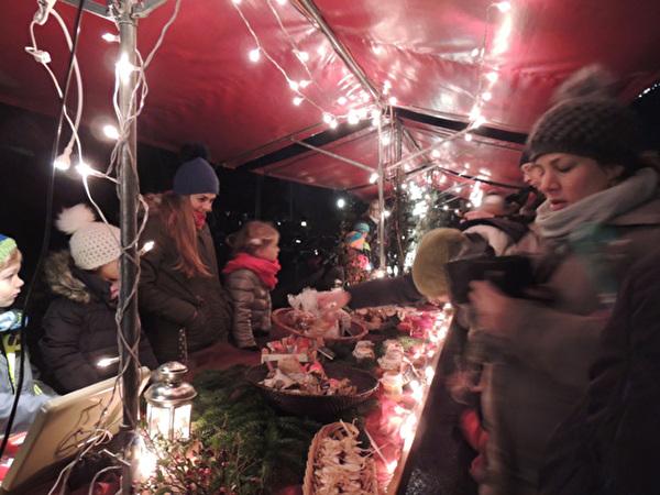 Weihnachtsmarkt 2015 Schulhaus Hanfländer