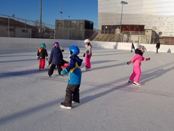 Eislaufen im Lido