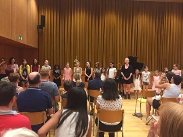 Abschlusskonzert Klavierklasse von Anna Zürcher