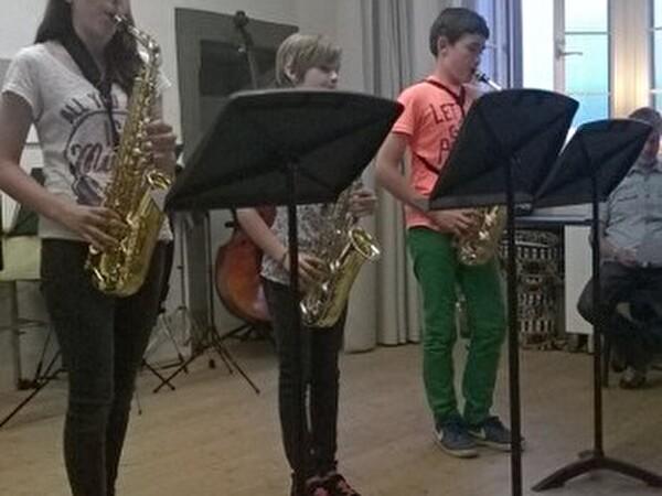 Schülerkonzert Steinegger + Rehmann