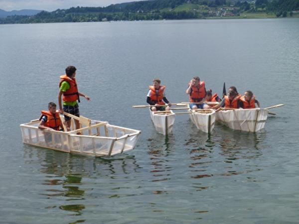 Bootsbau in der Sonderwoche