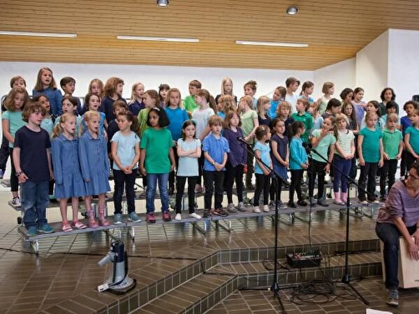 Sommerkonzert Singschule vom 21.6.2016